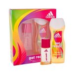 Adidas Get Ready Gift Set: EdT 30ml+SG 250ml