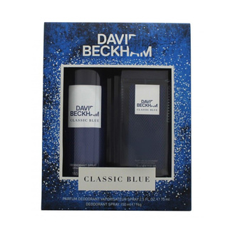 David Beckham Classic Blue Giftset: EdT 40ml+Shower Gel 200ml