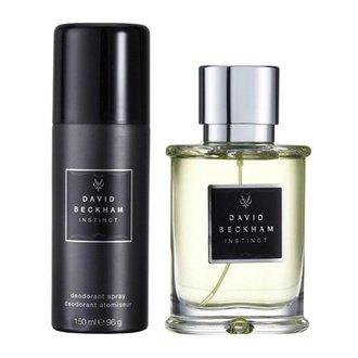 David Beckham Instinct Gift Set: EdT 50ml+Deo Spray 150ml