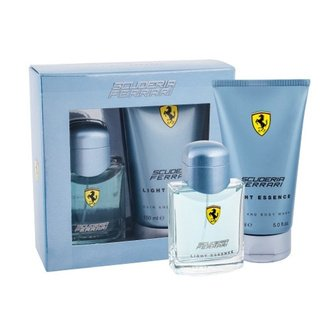 Ferrari Scuderia Light Essence Gift Set: EdT 75ml+SG 150ml