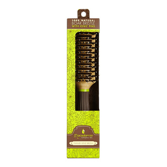 Macadamia Tunnel Vent Brush With Boar Bristle